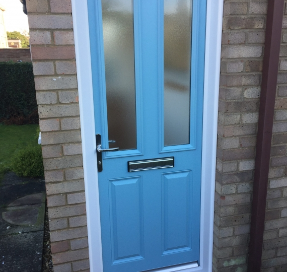 new composite from door fitted in st neots